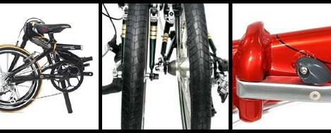 GUIAS DE PLEGADO ( FOLDING GUIDES) DAHON