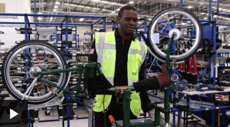 TOUR INSIDE BROMPTON BIKES FACTORY